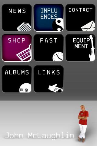 John McLaughlin version iPhone