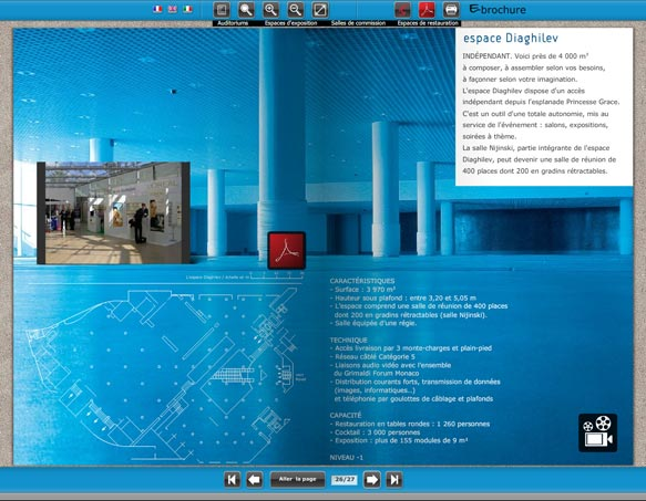 e-brochure Grimaldi Forum
