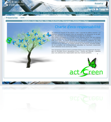 Grimaldi Forum Monaco - Act Green